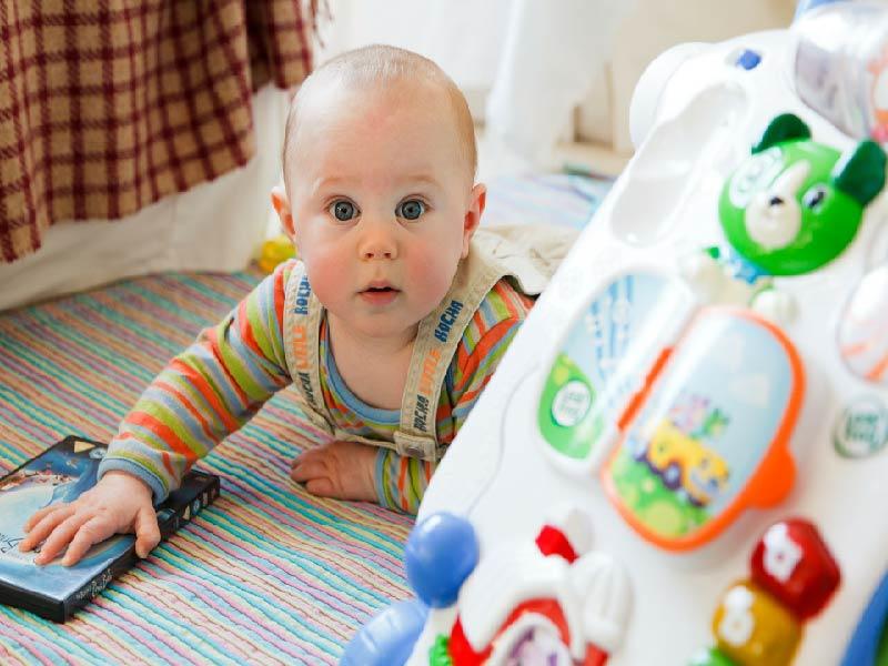 Cuidado con sobreestimular a tu bebé