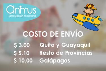 Animus Ecuador - Costo de Envio